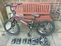BMX Zinc Black