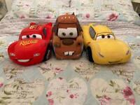 Disney Cars soft toys