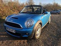 MINI Convertible 1.6 Cooper S 2dr - Blue, 2009, 57K mileage, FSH