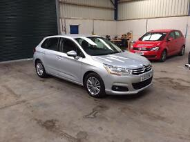 13 Reg Citroen c4 vtr+ 1.6 hdi 6 speed 1 owner £30 tax pristine guaranteed cheapest in country