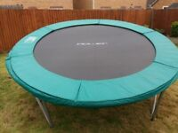 10 ft trampoline with cover in really good condition