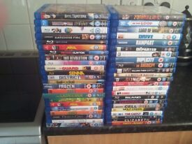 Blu ray films some sealed all good condition