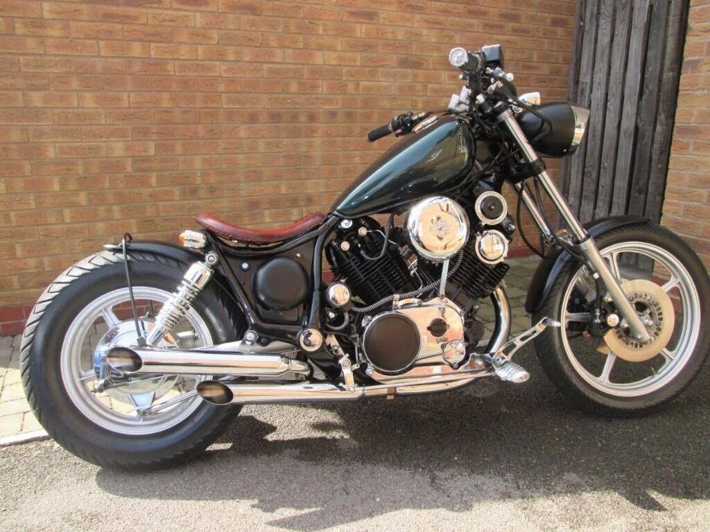 Bobber, Chopper based on a 1984 Yamaha XV1000