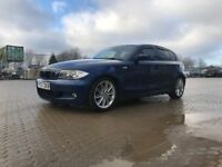 2007│BMW 1 Series 2.0 118d M Sport 5dr│FULL SERVICE HISTORY│RECENTLY SERVICED│HPI CLEAR│1 YEAR MOT