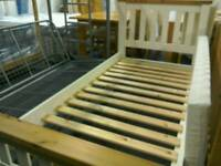 Conway Pine single bed frame #31253 £89