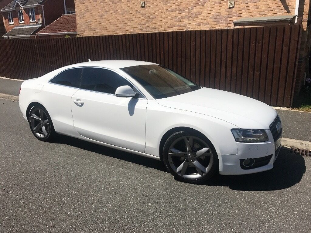 white audi a5 2 7 tdi sport low mileage in billingham county durham gumtree. Black Bedroom Furniture Sets. Home Design Ideas