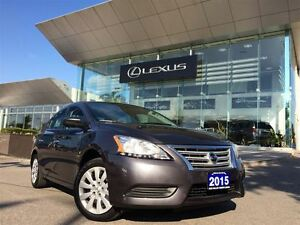 2015 Nissan Sentra 1owners Btooth