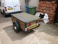 2 WHEEL CAR TRAILER 5ft x 3ft