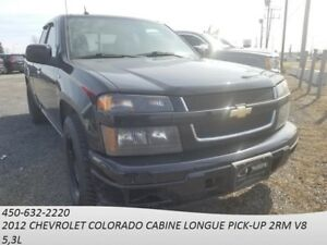 2012 Chevrolet COLORADO CABINE LONGUE PICK-UP 2RM 2WD