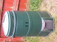 Large green garden compost bin