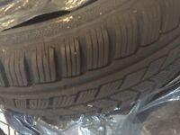 2 x Avon winter tyres 195/65R15