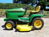 John Deere 355d ride on mower