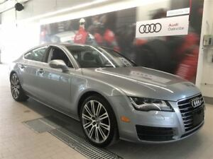 2012 Audi A7 3.0T Premium Plus Tip qtro /Audi Certified