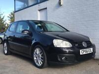 VOLKSWAGEN GOLF TD GTI, 3 DOOR, BLACK!!!