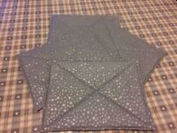 Hand made table mats