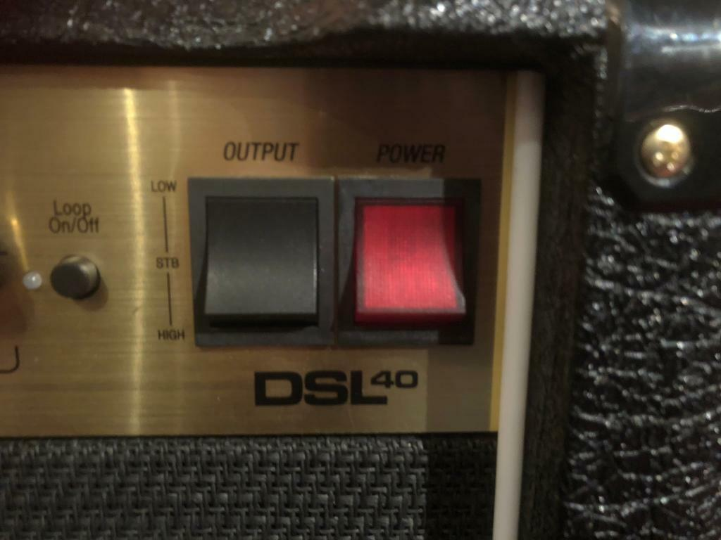 Marshall DSL40CR and Marshall cover | in Maidstone, Kent | Gumtree