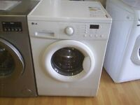LG INVERTER DIRECT DRIVE WASHING MACHINE 7KG LOAD good condition