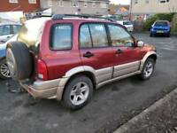 2001 Suzuki grand vitara 2.5 v6 Automatic on/offroader