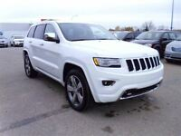 2014 Jeep Grand Cherokee Overland Diesel Sunroof Leather