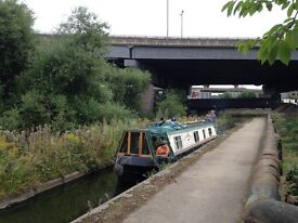 Narrowboat 43ft. A Lister Engine twin. Cruiser Stern.Central Heating system.