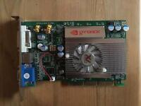 NVIDIA FX5200 AGP 128MB GRAPHICS CARD
