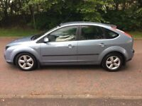 2005 Ford Focus 1.6 ZETEC CLIMATE, 5 Door, Petrol, Manual, MOT 12 Months*,10 stamps in service book