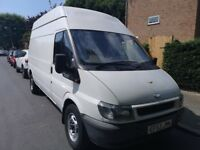 **FORD TRANSIT** 2004 1 YEAR MOT GREAT CONDITION 2.4 DIESEL LWB WITH HIGH ROOF LONG WHEEL BASE
