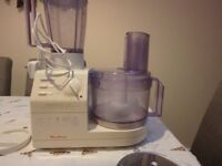 Moulinex masterchef 650 food processor and blender