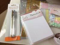 Brand New Papermania Crafting Supplies