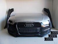 Front End Audi AUDI A4 S Line B8-8K-2012- 2015 complete front-bumpers-bumper bonnet