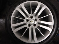 4x 20 inch Genuine LAND ROVER Range Rover Alloy Wheels with Tyres