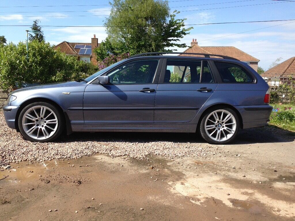 bmw e46 320d touring really good fuel economy 48 mpg in. Black Bedroom Furniture Sets. Home Design Ideas