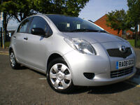*** Toyota Yaris 1.0 VVT-i T2 5dr *** 12 MONTHS MOT** FULL SERVICE HISTORY*** 3 Months WARRANTY***