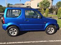 Suzuki Jimny /Jimmy 1.3 VVT 2005 4x4 low miles
