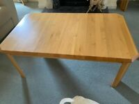 Maple coffee table