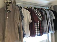 Great bundle of 12 men's shirts