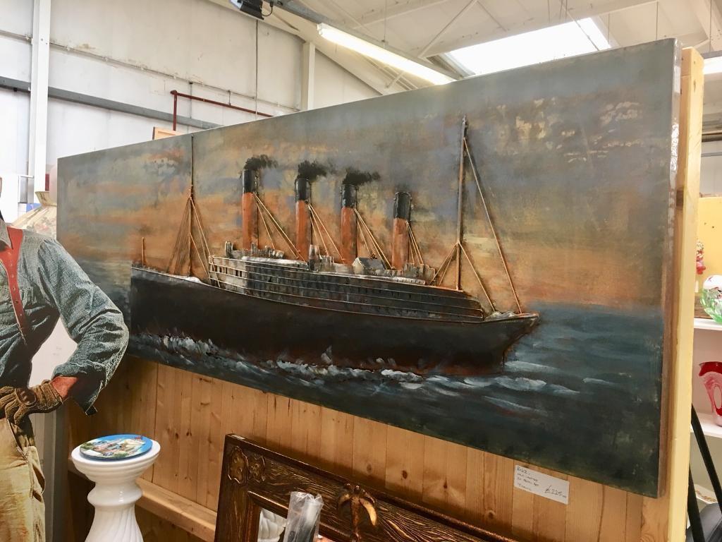 Titanic 3D art. BUZZ pitch