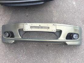 BMW e46 M Sport Bumper