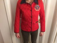 Paul's Boutique ladies jacket. Red Medium (8-10)