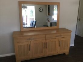 Harvey's Hampshire large sideboard and matching mirror!
