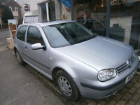 2001 vw golf 1.4 16v spares or repairs