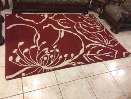 Red Wool Carpet