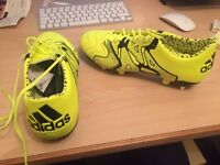 Adidas football boots - X 15.1 Leather SG Men - soft ground - size 8