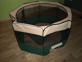 Canvas Dog Playpen/Enclosure