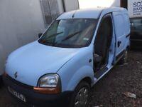 Renault Kangoo diesel spare parts engine injector gearbox door bonnet bumper