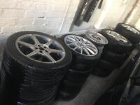 Alloy wheels and tyres all sizes