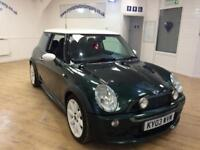 MINI HATCH COOPER 1.6 COOPER 3d 114 BHP ** 6 MONTHS WARRANTY ** (green) 2003