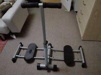 Leg Magic exercise machine.