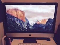 Apple iMac 27-inch (Late 2009) with Magic Mouse and Apple wireless keyboard
