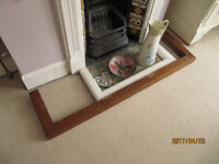 Fire Surround - Pine - 1960-70's - Varnished